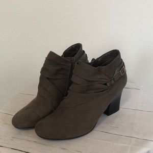 Laura Ashley, Suede  Boots